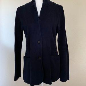J. Crew Factory Jackets & Coats - J. Crew Mercantile navy sweater blazer